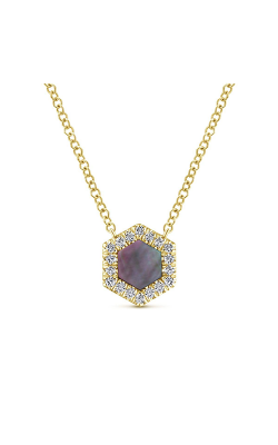 Gabriel & Co. Lusso Color Necklace NK5708Y45BM product image