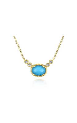 Gabriel & Co. Hampton Diamond Necklace NK5714Y45XT product image