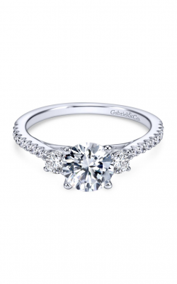 Gabriel & Co. Contemporary Engagement ring ER7296W44JJ product image
