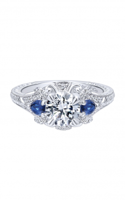Gabriel & Co. Victorian Engagement ring ER12582R4W44SA product image