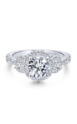 Gabriel & Co. Victorian Engagement Ring ER12770R4W44JJ product image