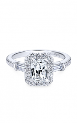 Gabriel & Co. Contemporary Engagement Ring ER7268W44JJ product image