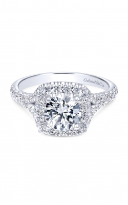 Gabriel & Co. Contemporary Engagement Ring ER10290W44JJ product image