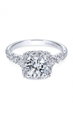 Gabriel New York Contemporary Engagement Ring ER10909W44JJ product image