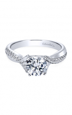 Gabriel & Co. Contemporary Engagement Ring ER10951W44JJ product image