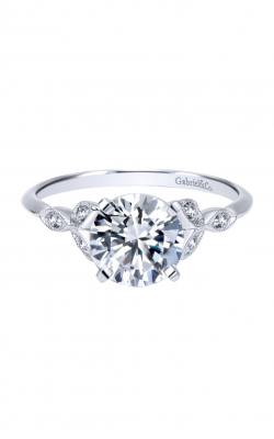 Gabriel & Co. Victorian Engagement Ring ER11747R4W44JJ product image