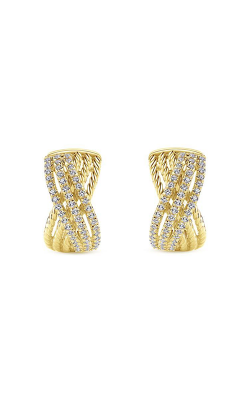 Gabriel & Co. Hampton Diamond Earrings EG13230Y45JJ product image