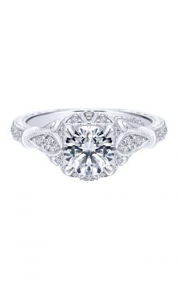 Gabriel & Co. Victorian Engagement Ring ER12581R4W44JJ product image