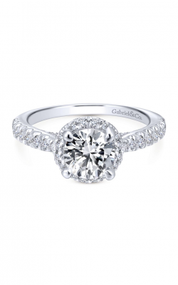 Gabriel New York Entwined Engagement ring ER12596R4W44JJ product image