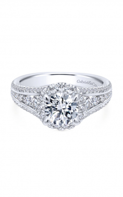 Gabriel & Co. Entwined Engagement Ring ER12610R4W44JJ product image