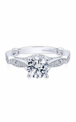 Gabriel & Co. Entwined Engagement Ring ER12614R4W44JJ product image