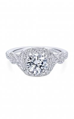 Gabriel & Co. Entwined Engagement Ring ER12621R4W44JJ product image