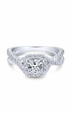 Gabriel & Co. Hampton Engagement Ring ER12627S3W44JJ product image