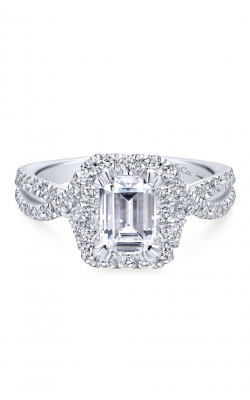 Gabriel & Co. Contemporary Engagement Ring ER12636E4W44JJ product image