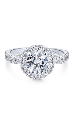 Gabriel New York Entwined Engagement ring ER12657R4W44JJ product image