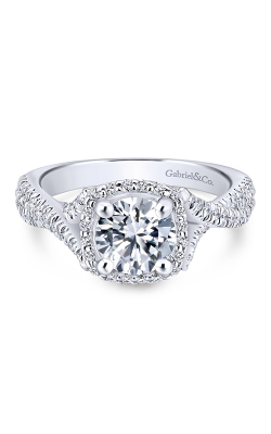 Gabriel & Co. Rosette Engagement ring ER12680R4W44JJ product image