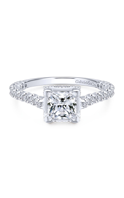 Gabriel & Co. Crown Engagement ring ER12754S4W44JJ product image