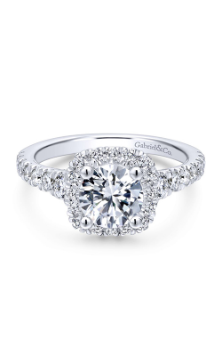 Gabriel & Co. Entwined Engagement Ring ER12761R4W44JJ product image