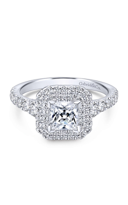 Gabriel & Co. Entwined Engagement Ring ER12763S3W44JJ product image