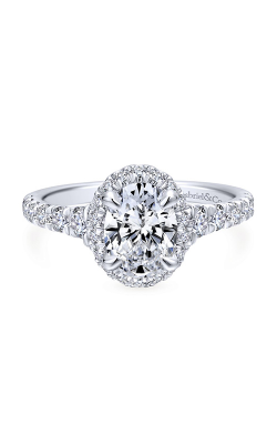 Gabriel & Co. Entwined Engagement ring ER12764O4W44JJ product image