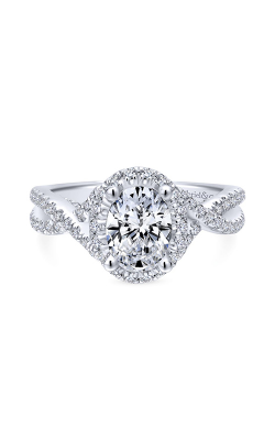 Gabriel & Co. Entwined Engagement Ring ER12774O4W44JJ product image