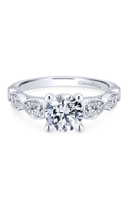 Gabriel & Co. Entwined Engagement ring ER12803R4W44JJ product image