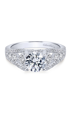 Gabriel & Co. Entwined Engagement Ring ER12814R4W44JJ product image