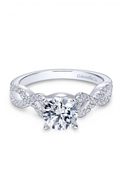 Gabriel New York Contemporary Engagement ring ER7805W44JJ product image