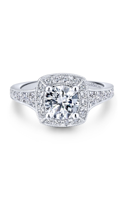 Gabriel New York Entwined Engagement ring ER12838R4W44JJ product image