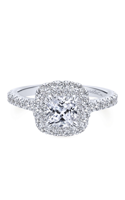Gabriel & Co. Entwined Engagement ring ER12839C4W44JJ product image