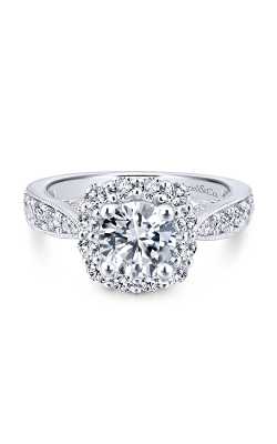 Gabriel & Co. Entwined Engagement Ring ER12840R4W44JJ product image