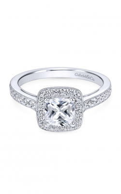 Gabriel & Co. Victorian Engagement ring ER7527W44JJ product image