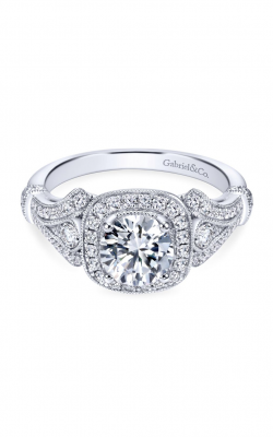 Gabriel & Co. Victorian Engagement Ring ER7479W44JJ product image