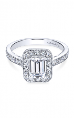 Gabriel New York Victorian Engagement ring ER7528W44JJ product image
