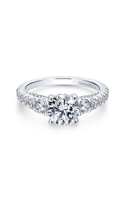 Gabriel & Co. Entwined Engagement ring ER12612R4W44JJ product image