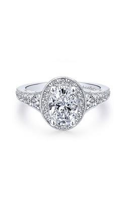 Gabriel & Co. Victorian Engagement ring ER12651O4W44JJ product image