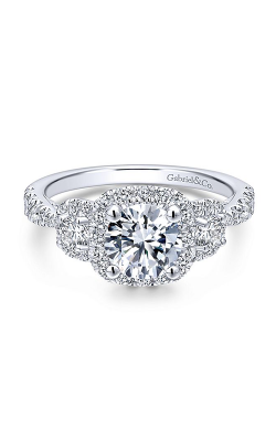 Gabriel New York Entwined Engagement ring ER12771R4W44JJ product image