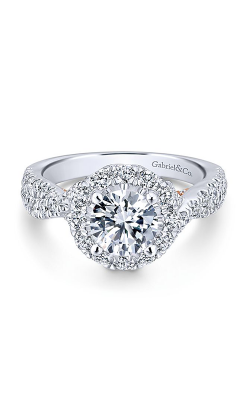 Gabriel & Co. Blush Engagement Ring ER12822R4T44JJ product image