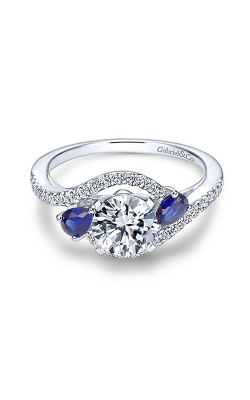 Gabriel & Co. Contemporary Engagement ring ER5331W44SA product image
