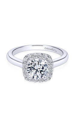 Gabriel & Co. Contemporary Engagement Ring ER6873W44JJ product image