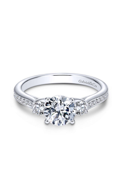 Gabriel & Co. Contemporary Engagement ring ER7473W44JJ product image