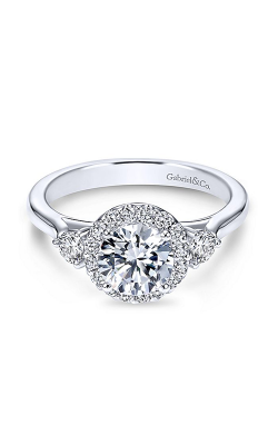 Gabriel & Co. Contemporary Engagement ring ER7482W44JJ product image