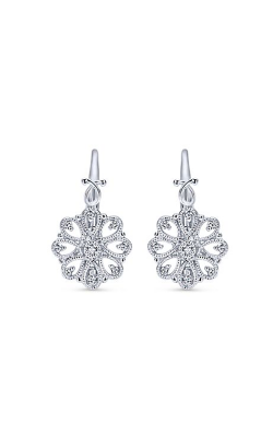 Gabriel & Co. Victorian Earrings EG12167SVJWS product image