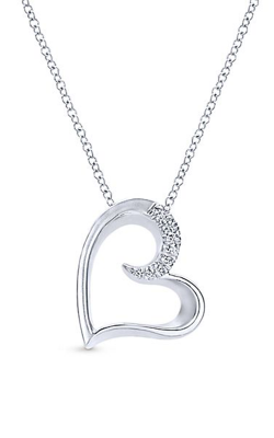 Gabriel & Co. Eternal Love Necklace NK4001SVJWS product image