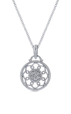 Gabriel New York Victorian Necklace NK4110SV5JJ product image