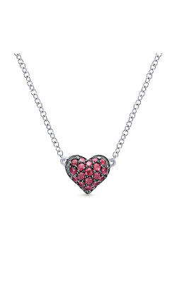 Gabriel New York Eternal Love Necklace NK4325SVJRB product image