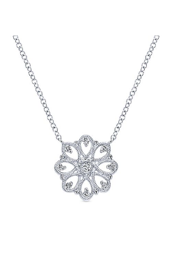 Gabriel New York Victorian Necklace NK4334SVJWS product image