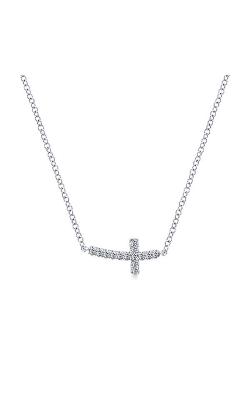 Gabriel & Co. Faith Necklace NK4345W45JJ product image