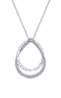 Gabriel & Co. Souviens Necklace NK5370SVJWS product image