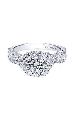 Gabriel & Co. Entwined Engagement Ring ER12622R4W44JJ product image